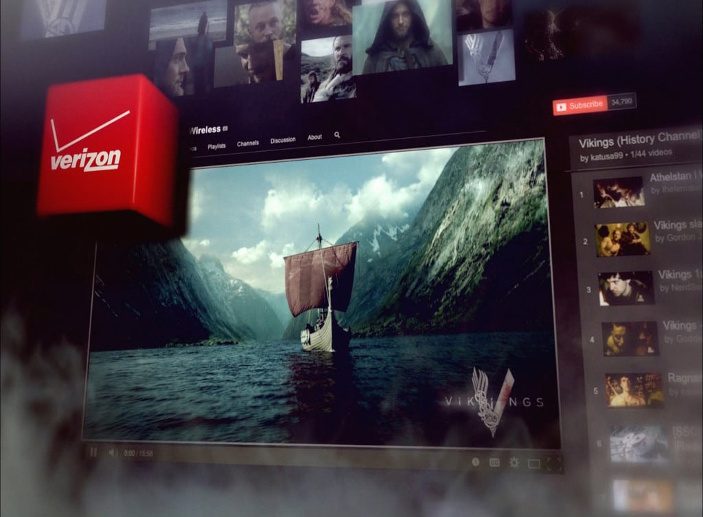 Use of Companion Video for TV Show HISTORY's Vikings Atheltstan's Journal presented by Verizon Wireless